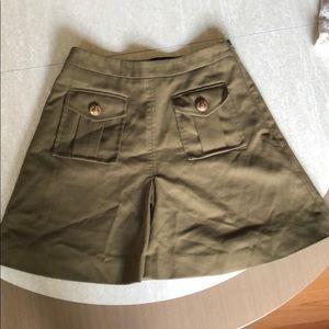 ASOS Army Green Utility Skirt